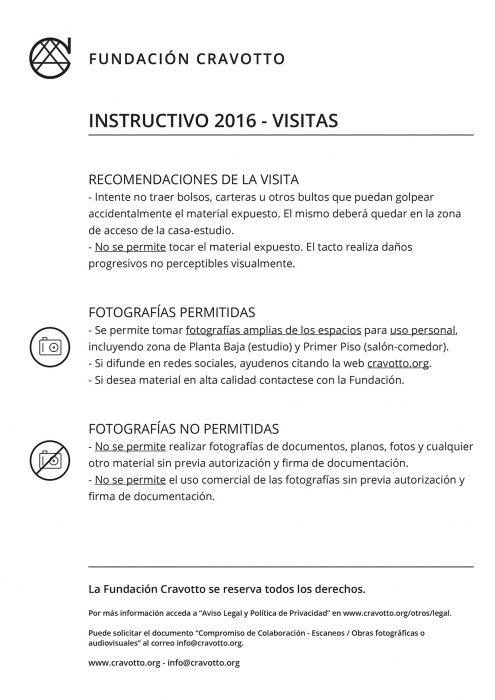 Instructivo Visitas 2016